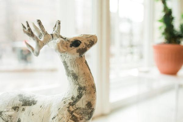 yksityiskohta-luonnontieteellisen-museon-kahvilasta-peurakoriste-tuohesta